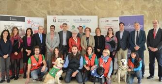 Fotografía realizada por animalshealth http://www.animalshealth.es/profesionales/unas-jornadas-repasan-los-beneficios-de-las-terapias-con-perros